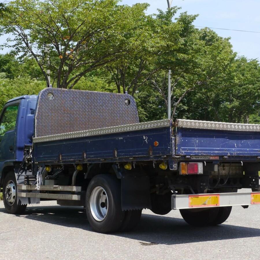 不用品回収の積み放題プラン!4t(トン)トラックの用途と積める荷物量の目安